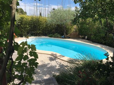 Photo for VILLA SWIMMING POOL BETWEEN CEVENNES AND MEDITERRANEAN