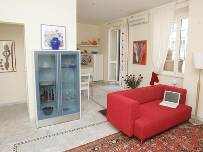 Photo for Rome: 200 mt. Vatican luxury apartment in the heart of Rome. Wifi free