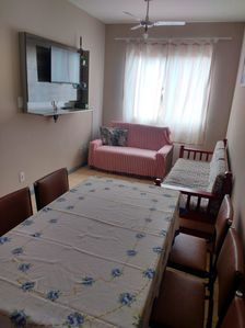 Photo for Cozy apartment 150 meters from Praia Grande.