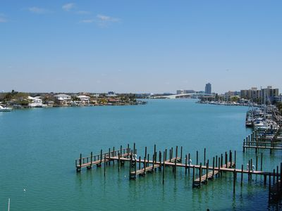 Stunning view off the balcony of unit 400 overlooking  the intercoastal waterway