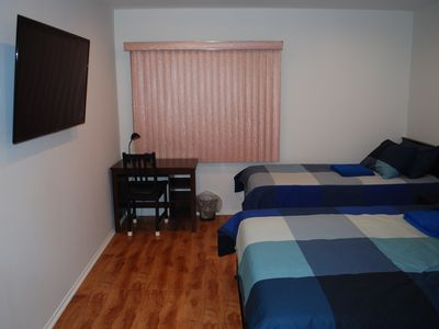 Photo for Blue Room/ all new/ 4K TV/ near freeway in Encino