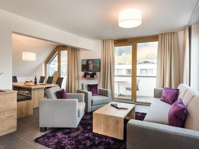 Photo for Penthouse Alpine Dreams Half Board - AlpenParks Hotel & Apartment Central Zell am See