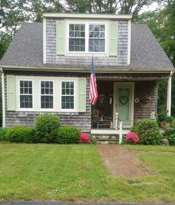 Photo for Cape Cod Bungalow walking distance to Main St., also close to hospital and beach