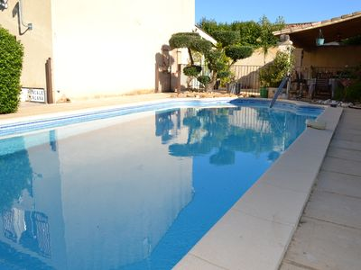 Photo for HOUSE WITH SWIMMING POOL BETWEEN ALPILLES AND LUBERON