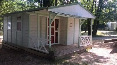 Photo for Camping Castanhada ** - Chalet Eco Blanc 3 rooms 5 persons