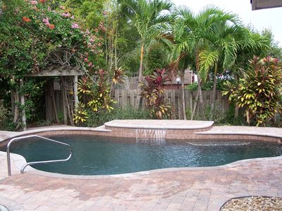 Photo for Beach Home with Private Heated Pool!