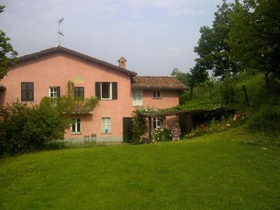 Photo for Old house with pool and large garden in the hills of Gavi