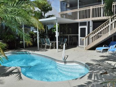 P78 - Charming beach home just down the road from Sombrero Beach. 3 bedroom 2 bath with dock and pool