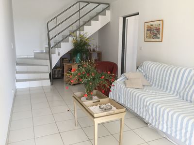 Photo for T2 DUPLEX, terrace, garden, calm, bright, independent in PIOLENC in PROVENCE