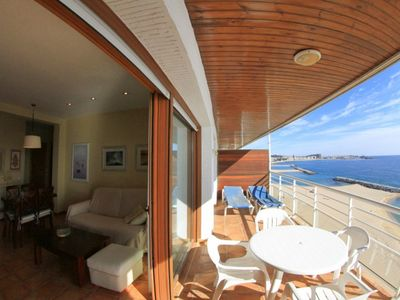 Photo for Club Villamar - Luxury holiday apartment at only 5 meters from the beach