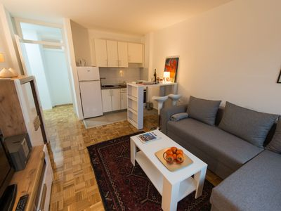 Photo for Cozy and modern,15 min to center,New Belgrade . Free parking on the street