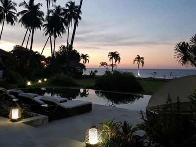 Photo for Large luxury beach villa, max 12 person, beautiful volume, typical Balinese