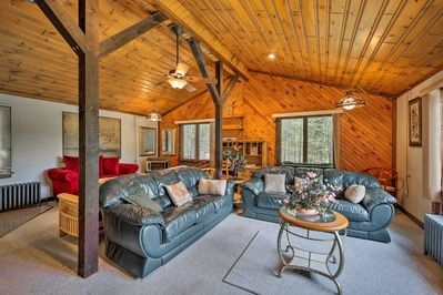 Head upstate and enjoy a family trip to Johnsburg when you visit this home!