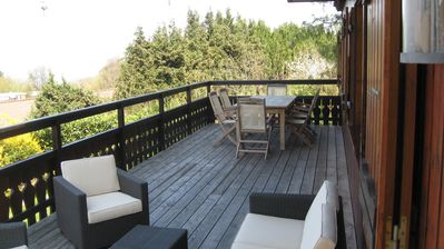 Photo for Chalet Grand Terrace View lake in Evian