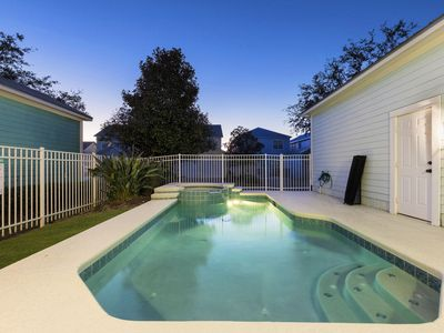 Photo for Luxury Pool Home Located at the Exclusive Reunion Resort  6 miles to Disney!