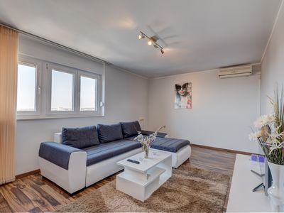 Photo for Zadar - Apartment near the beach and the center on the 12th floor