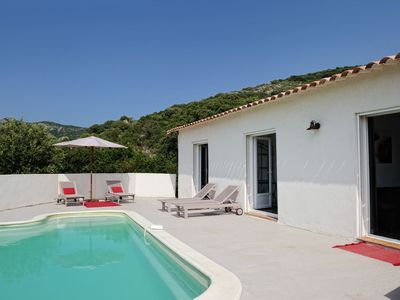 Photo for Recent house in the scrub with pool, near Porto Vecchio