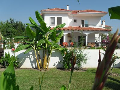 Photo for Detached 3 Bed Villa,  Own Pool, Mature tropical Gardens Nr River in lovely area