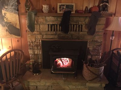 Photo for Rustic Family Vacation Cabin with Brand New Deck near Pinecrest and Dodge Ridge