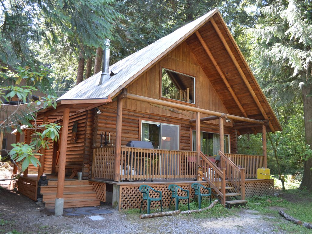 Full Log Cabin In Mt. Baker Rim