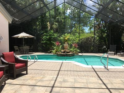 Photo for Beautiful Pool home in gated Eagle Creek, close to Beaches and downtown Naples