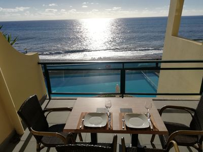 Photo for Great Apartment By the Beach with Pool