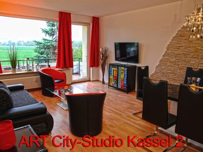 Photo for Exclusive quiet city apartment / near city center Kassel + DOCUMENTA / Herkulesblick