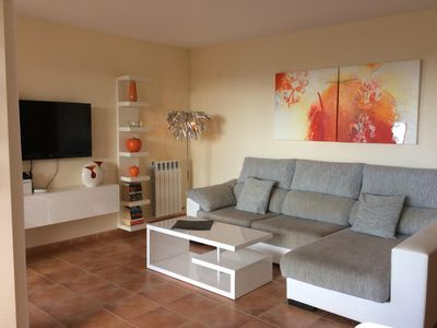 Photo for Nice sunny apartment with large balcony, pool, beach and sea near, WLAN incl.