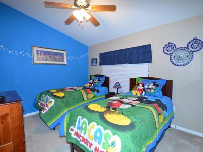 Magic Kingdom Bedroom with Authentic Disney Memorabilia