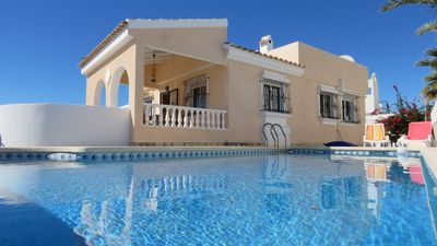 Photo for INDIVIDUAL HOUSE WITH PRIVATE SWIMMING POOL - CLIMATE ROOMS.