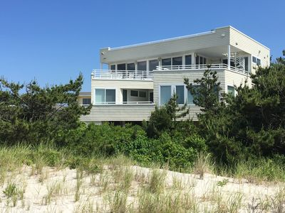 Photo for Luxury LBI OCEANFRONT w/ Ocean, Bay, Wildlife Views & one-of-a-kind location