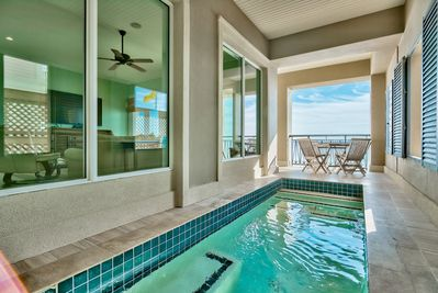 Private Pool w/ Beach Views!!