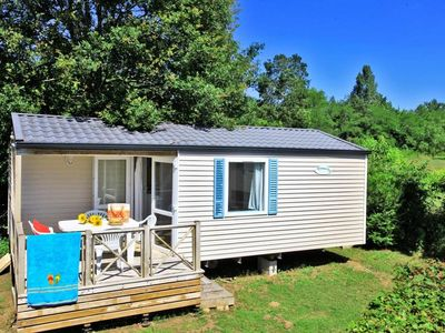 Photo for Camping Le Plein Air des Bories *** - Mobil home O'hara Comfort 3 rooms 4 persons