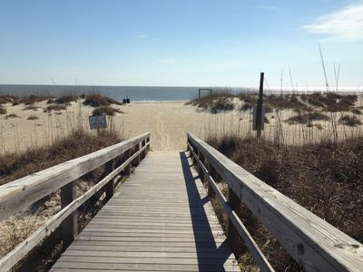 Photo for Steps to Beach, Restaurants, Pet Friendly Rates