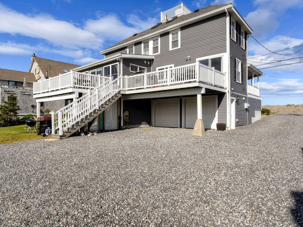 Blissful 3br Rye Beach House W Oceanfront Views New Hampshire