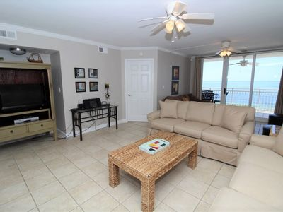 Photo for SeaSpray East 924- Beach Front Views from Terrace with Luxurious Interior!
