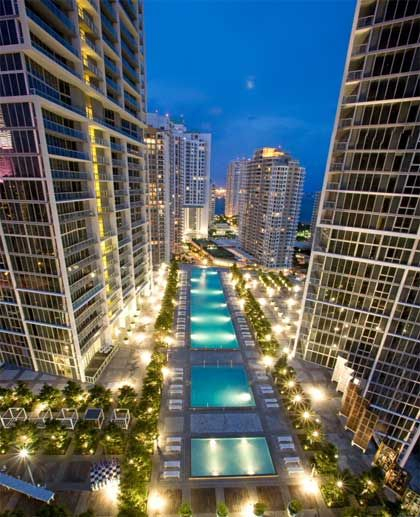 Two Bedroom Suites In Miami: Stunning 2 Bedroom Apt On Icon Brickell W Hotel In