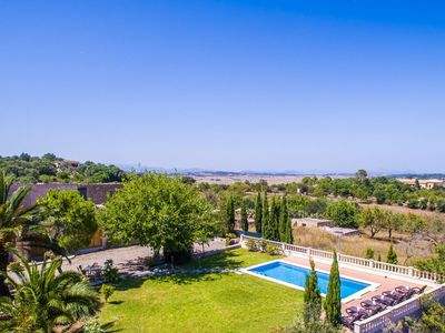 Photo for 3 bedroom Villa, sleeps 6 in Maria de la Salut with Pool and WiFi