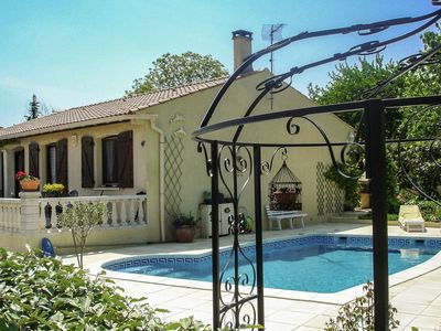 Photo for Holiday house in quiet Coulobres with solarium and private and secured pool