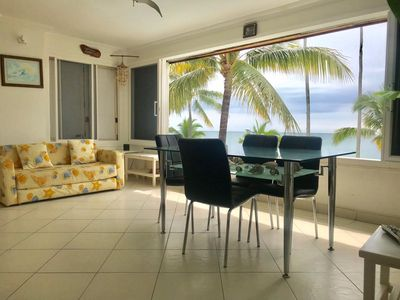 Photo for Beautiful suite in the compound Casa Blanca, directly at the beach