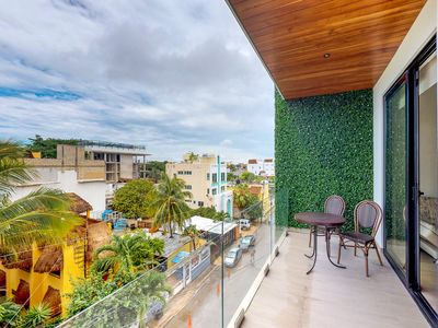Photo for NEW LISTING! Contemporary beachside escape w/shared pool, rooftop terrace