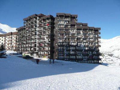 Photo for Surface area : about 25 m². 8th floor. Orientation : North. View mountain
