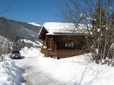 Photo for 4BR Chalet Vacation Rental in La Clusaz, Auvergne-Rhône-Alpes