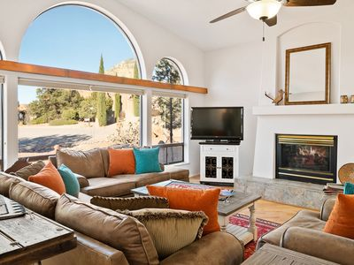 Photo for *SANITIZED* REDUCED RATES! Gorgeous West Sedona Home w/ Hot tub and Views!~Quail Run Retreat
