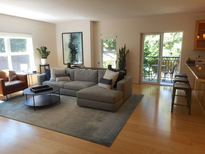 Photo for Three-level West Seattle/Lincoln Park Townhome w/garden, private patio
