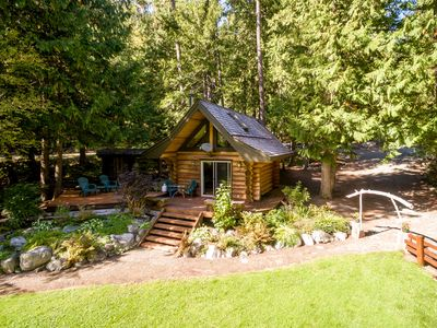 Photo for Lakefront Private Log Cabin, close to Pemberton - The Bunkhouse