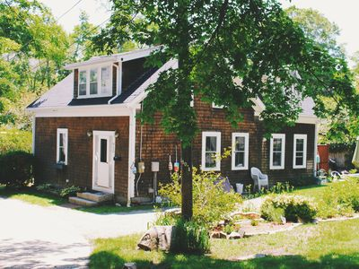 Photo for Charming cottage, four bedroom, sleeps six, near beach, in Gloucester, MA.