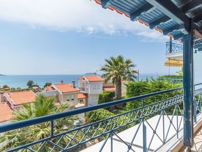 Photo for Beautiful villa with view in Sithonia
