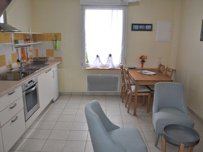 Photo for Beautiful apartment 200m beaches, 1st floor of a small residence, in Trégastel