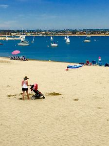 Its Summer on the bayside beach, come play